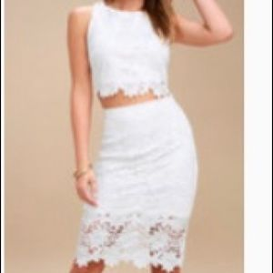 Brand new two piece set from Lulu's